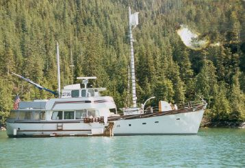 1958 Vic Franck Garden Design North sea trawler