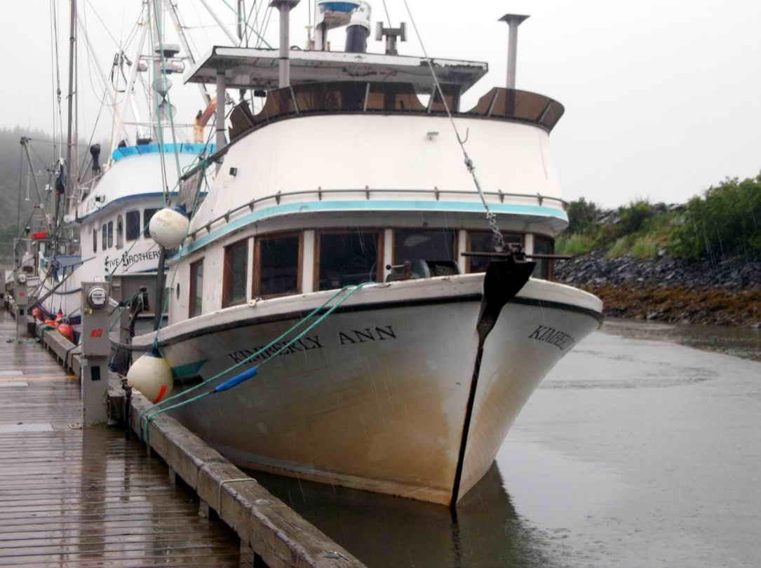 1977 longliner commercial salmon fishing power boat for for Fishing boats for sale