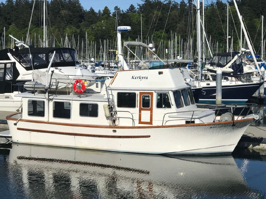 1976 pacific trawler custom build