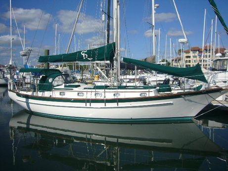 1991 Cabo Rico Custom Offshore 38 B Plan