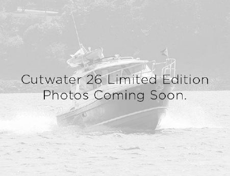 2016 Cutwater 26 Limited Edition