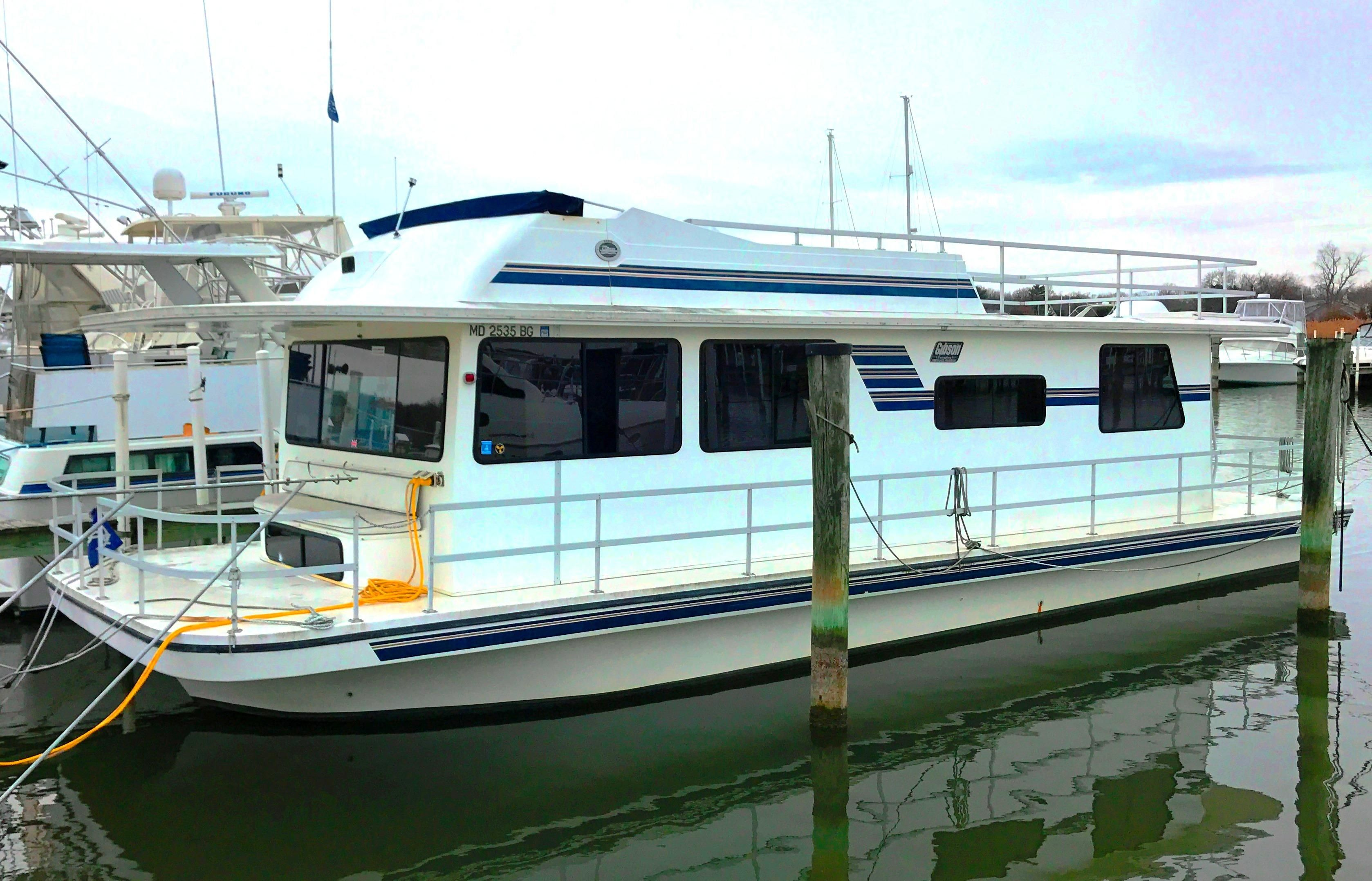 Twin Cities Ford Dealers >> 2003 Gibson 44 Executive Diesel Houseboat Power Boat For Sale - www.yachtworld.com