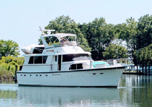 1985 Hatteras 53 ED STABILIZED