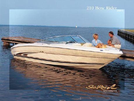2002 Sea Ray 210 Bow Rider