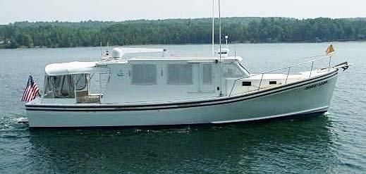 2000 Provincial Downeast Lobster Yacht - Provincial Boat & Marine Trawler