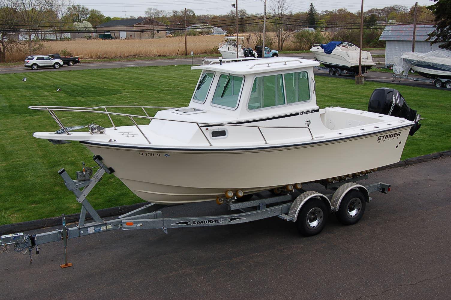 21 ft 2011 steiger craft 21 miami