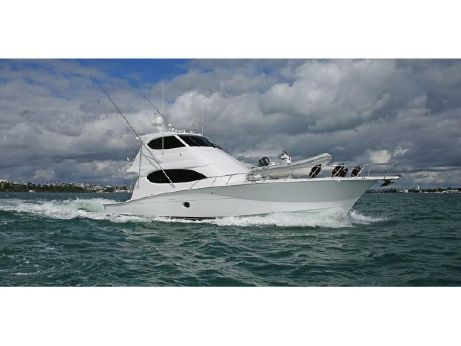 2008 Hatteras 64 Enclosed Bridge Sportfish