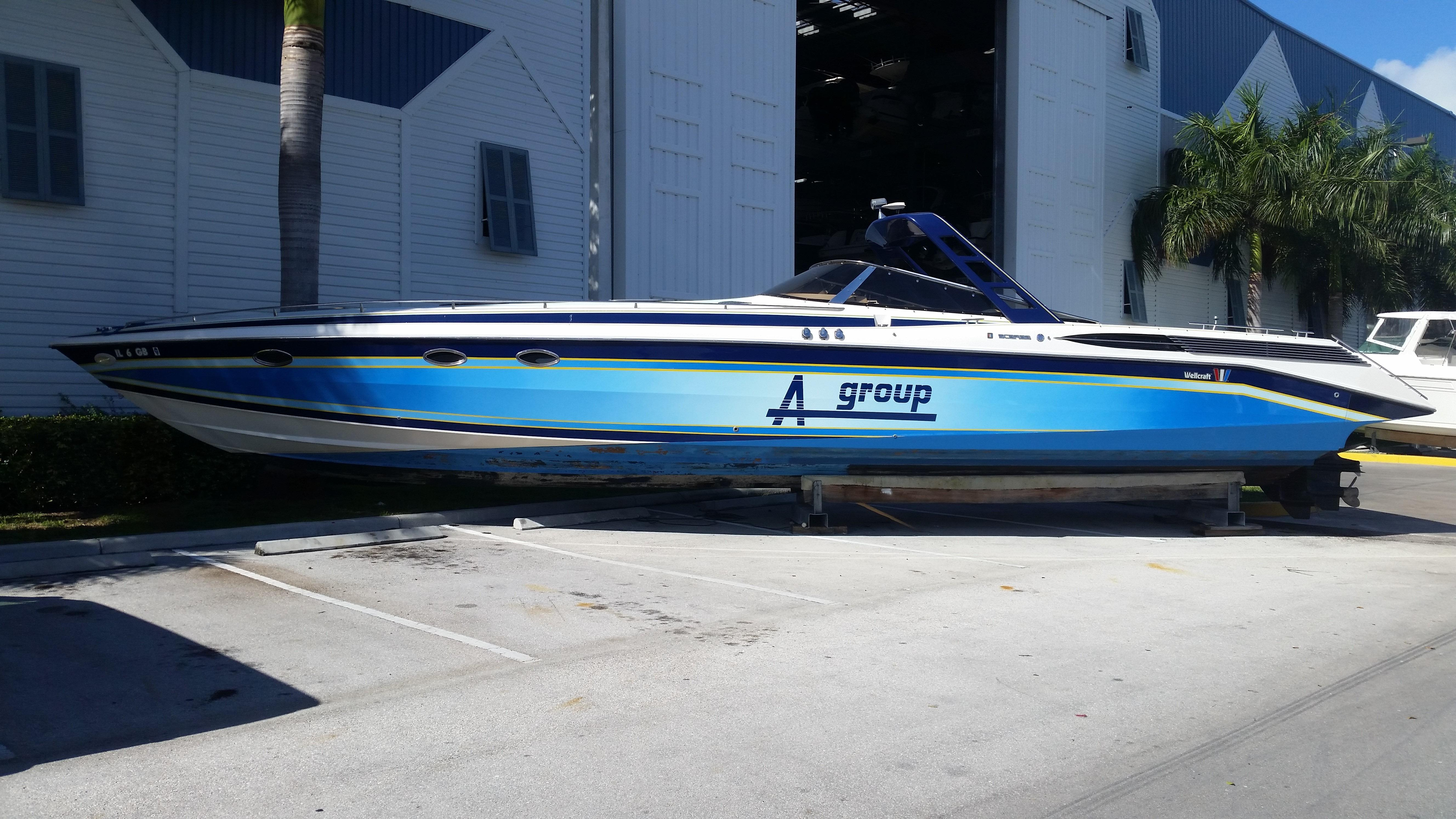1989 Wellcraft 50 Scarab Meteor 5000 Power Boat For Sale ...