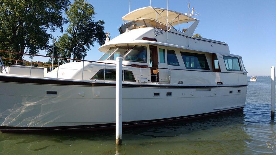 1983 Hatteras 56 Motor Yacht Power Boat For Sale - www yachtworld com