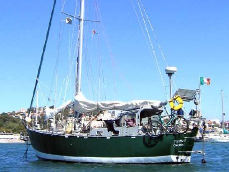 2003 Ebbtide Long keel steel sloop