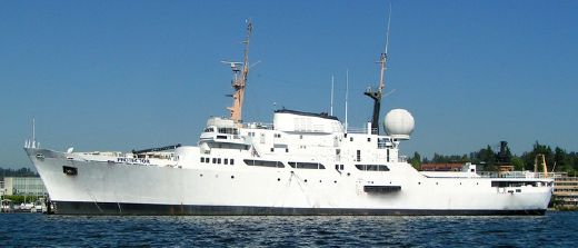1968 Noaa Flagship Ice Class Diesel Electric Expedition