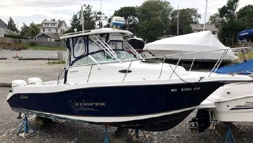 2004 Seaswirl Striper 2601 Walkaround O/B