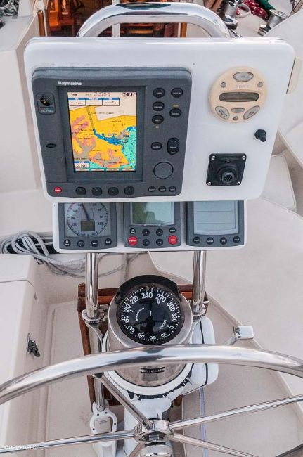Pacific Seacraft 31 Helm