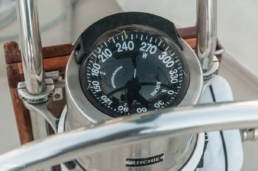 Pacific Seacraft 31 Sailboat Compass