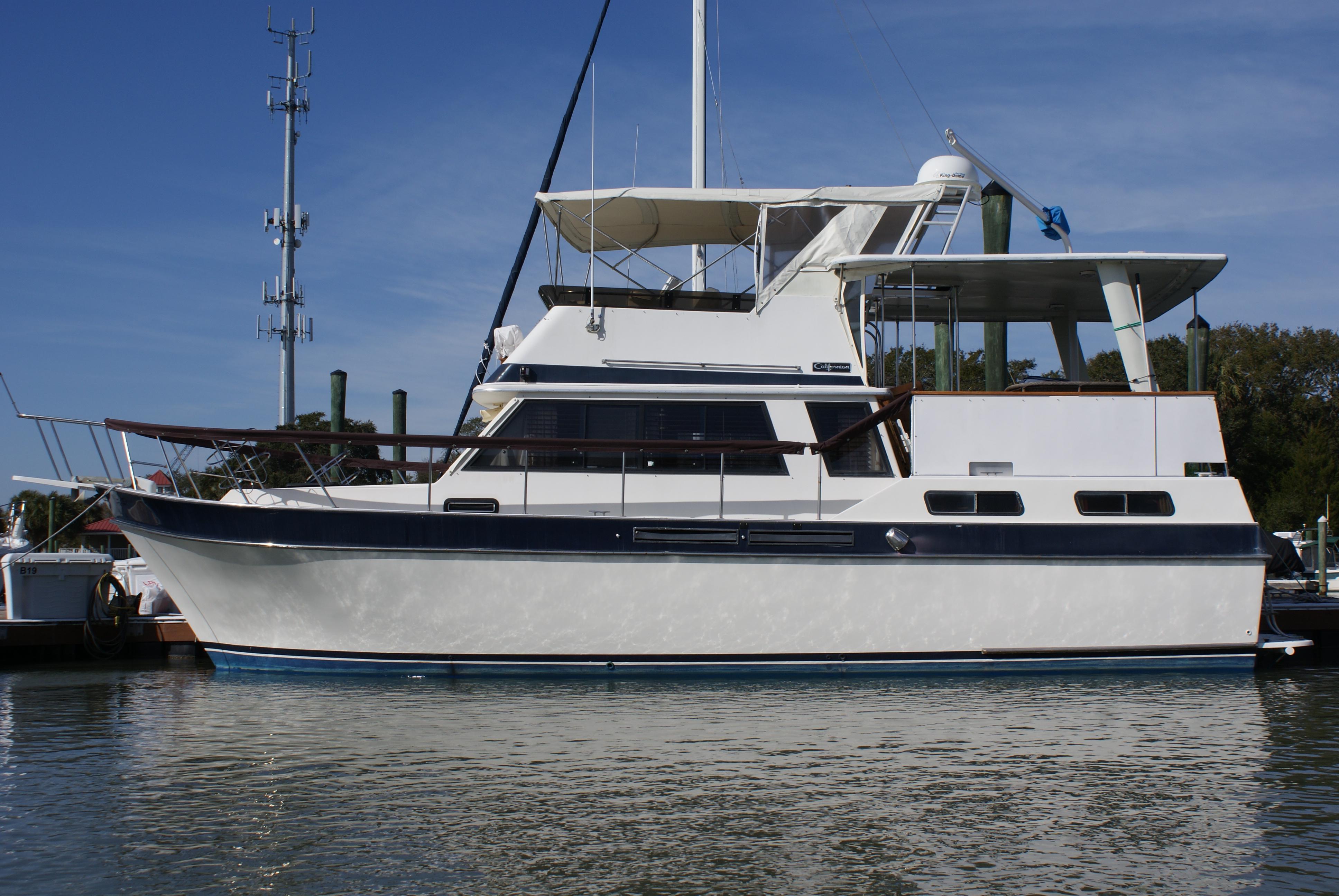 38 ft 1984 californian 38 motor yacht