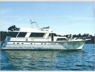1980 Hatteras Extended Cockpit Motor Yacht