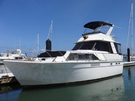 1982 Egg Harbor 40 Flushdeck Motoryacht Stabilized