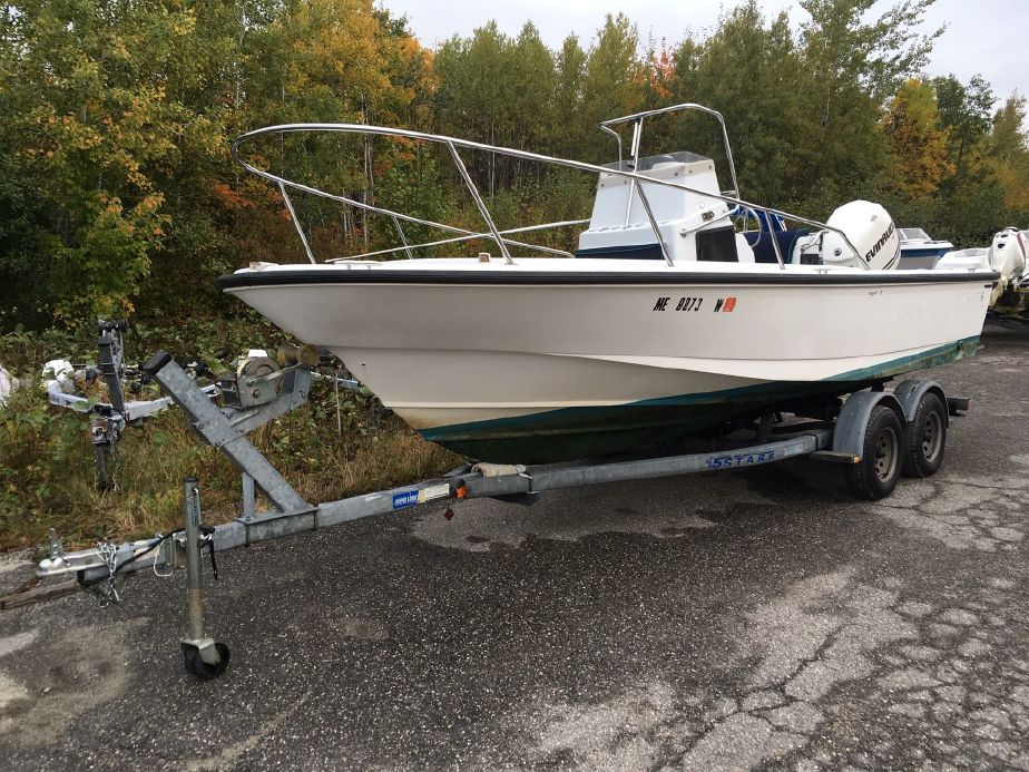1993 Boston Whaler OUTRAGE Power Boat For Sale - www