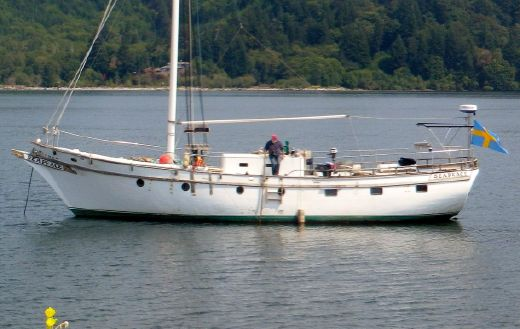 1978 Custom Wm Garden Gaff Rig Pilothouse Cutter
