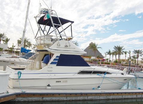 1986 Sea Ray SR-340 Flybridge SF w/Trailer