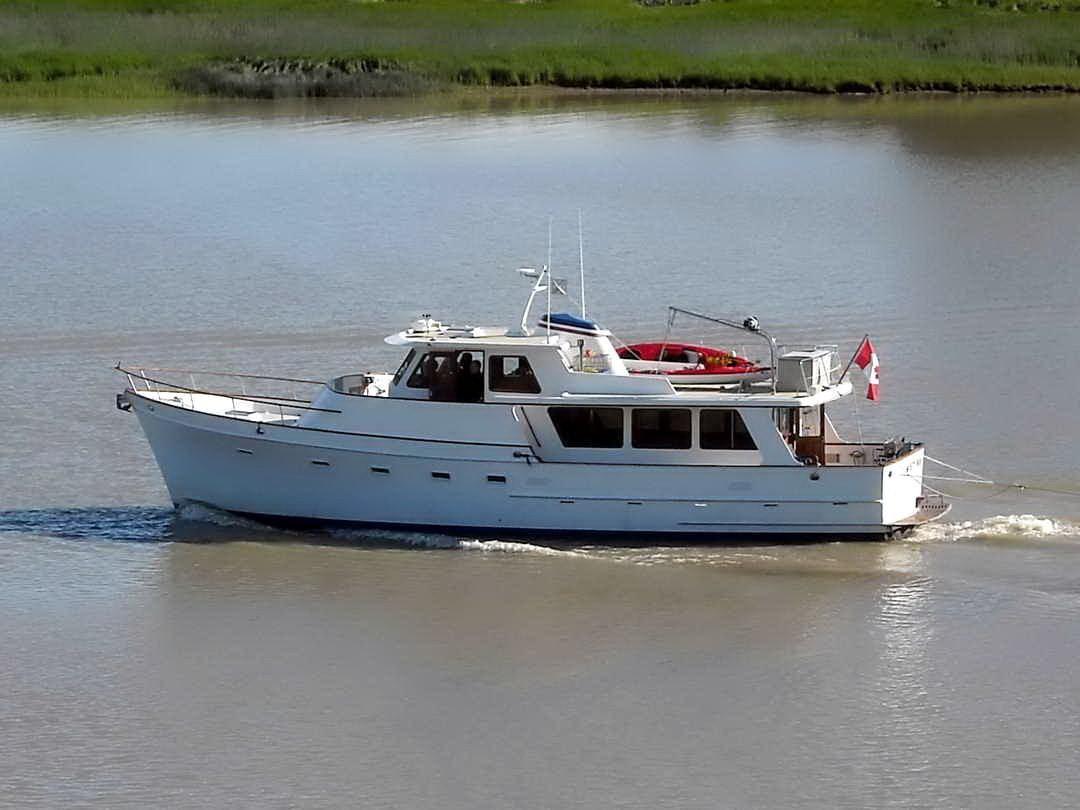1980 ocean alexander mark 1 motor yacht power boat for sale for Large motor yachts for sale