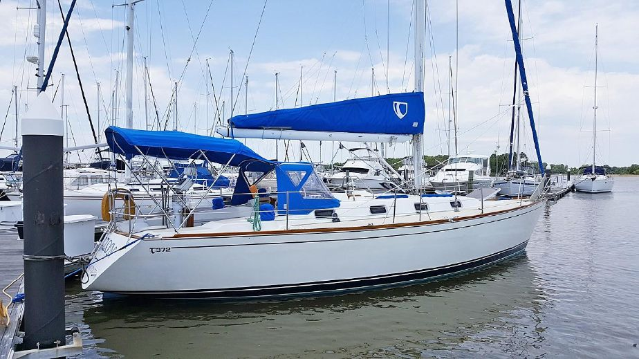 1992 Tartan 372 Sail Boat For Sale - www yachtworld com