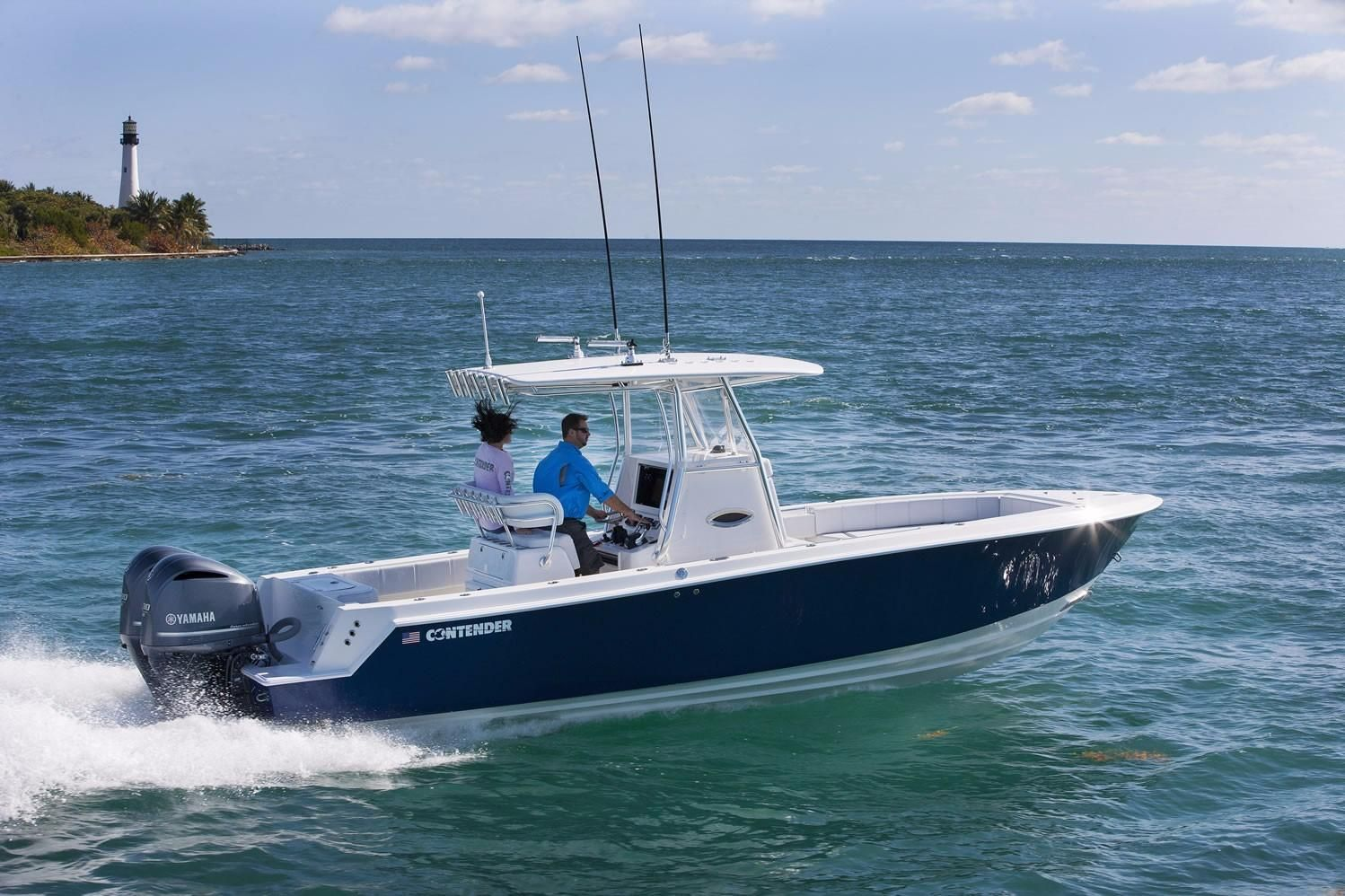 2018 contender 28 sport power boat for sale www for Deep sea fishing boat for sale