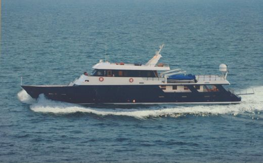 1982 Motoryacht 125'- RING/MUST BE SOLD