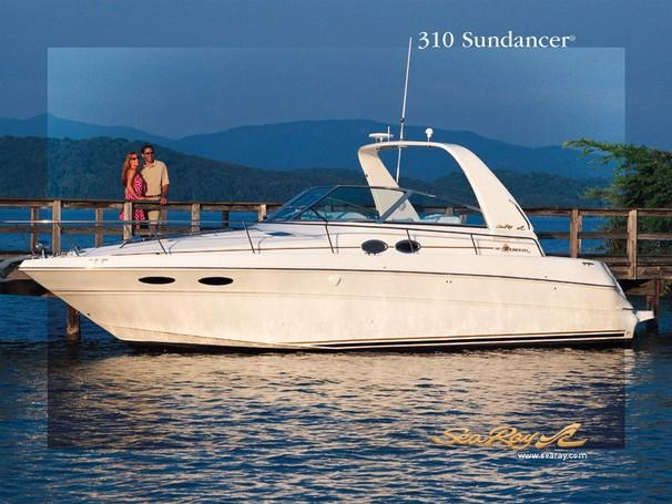 31 ft 2002 sea ray 310 sundancer (freshwater)