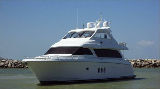 2012 Hatteras Enclosed Skylounge Motor Yacht