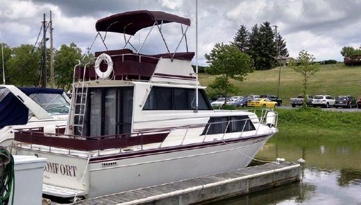1988 Marinette SEDAN FLYBRIDGE