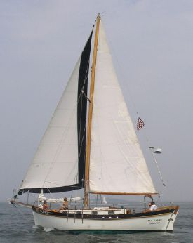 1974 Crealock Dreadnought Cutter - Dreadnaught Cruising Sailboat