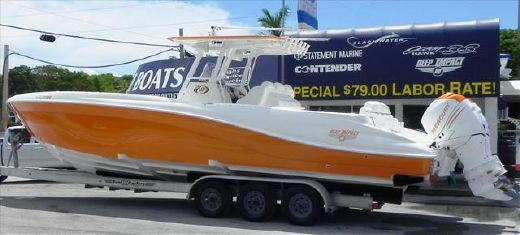2010 Deep Impact High Performance Power Boat 360C