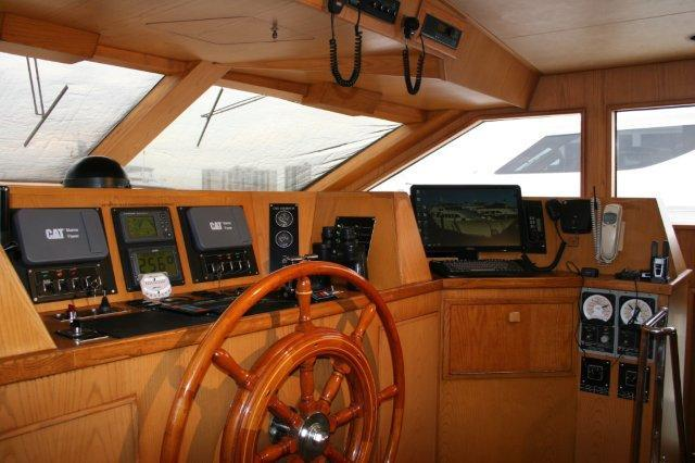 DENISON Raised Pilothouse Motor Yacht