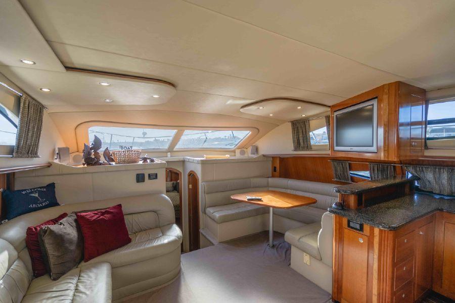 Cruisers Yachts 455 Express Interior Salon