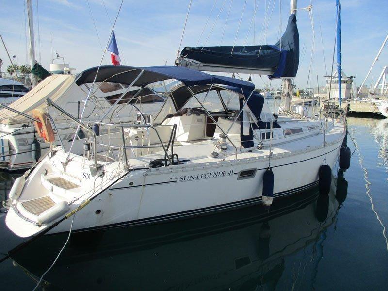 1988 Jeanneau Sun Legende 41 Sail Boat For Sale - www
