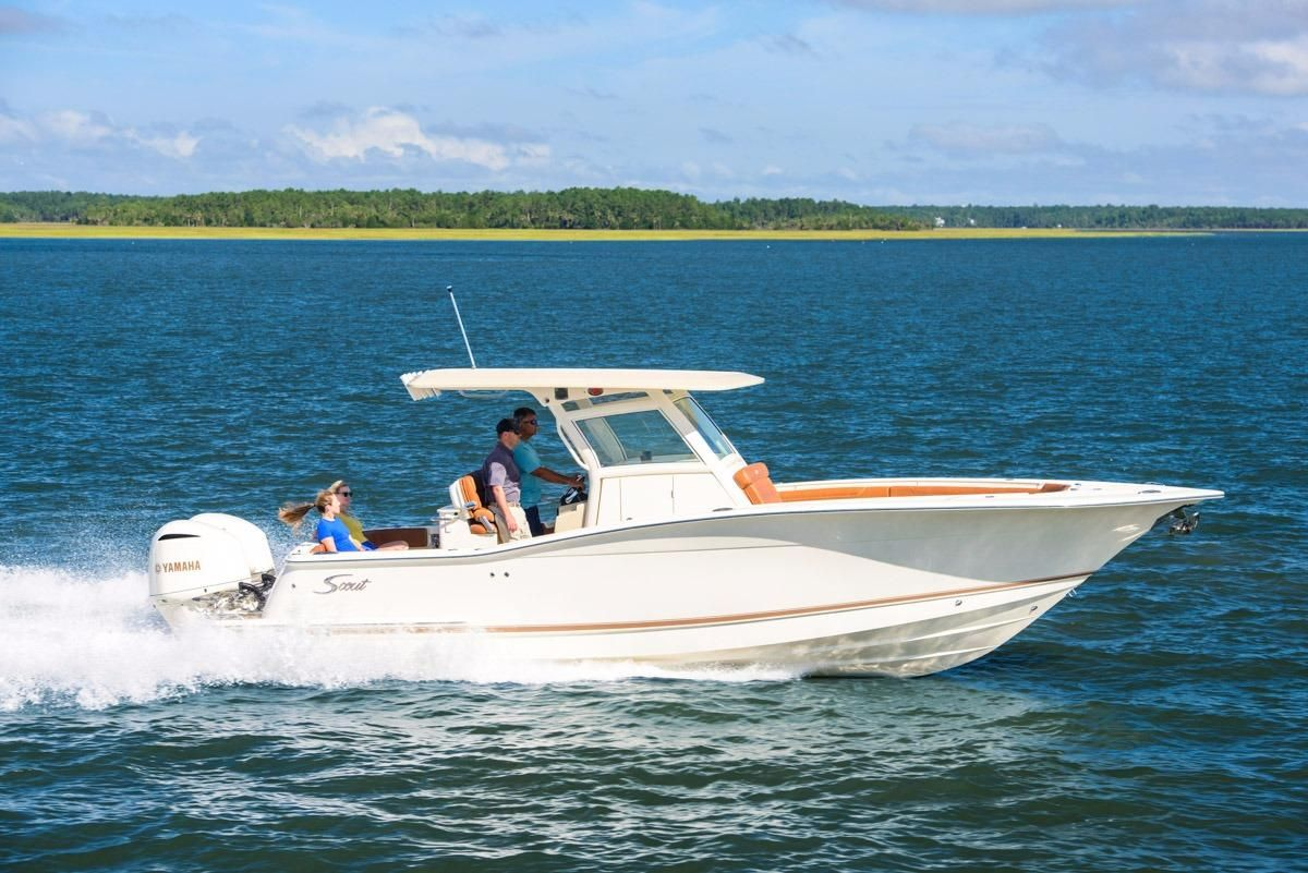 2015 scout 300 lxf power boat for sale for Johnson marine italia