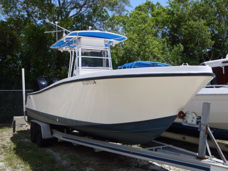 1995 Mako 285 Twin 05 225hp Verado's