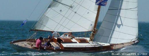 1957 Fife Yacht classique