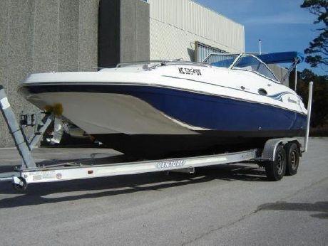 2006 Hurricane SunDeck 217 OB