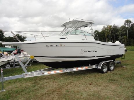 2001 Seaswirl Striper 2601 Walkaround O/B