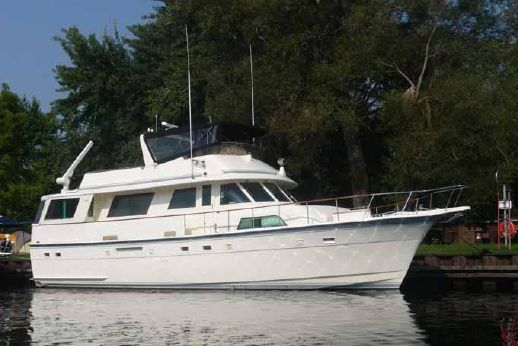 1985 Hatteras Flush Deck Flybridge Motoryacht