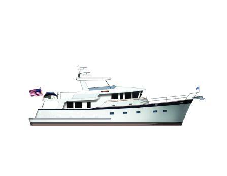 2017 Kadey-Krogen Yachts - Krogen 70'