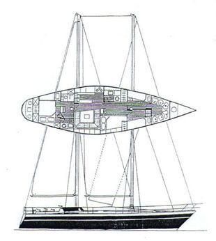1978 Giorgetti E Magrini Schooner 55