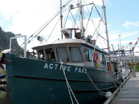 1991 Research Vessel - Commercial Fishing Conversion
