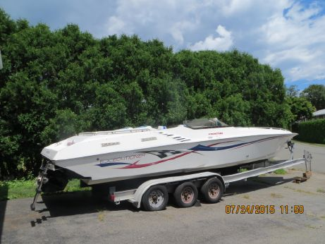 2003 Fountain EXECUTIONER 35, Twin 496 425, XR Drives