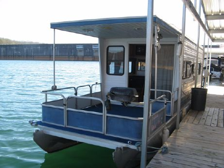 "2000 Aqua Chalet 8' 6"" x 36' Pontoon Houseboat"