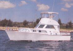 """1961 Pearson """"Arundel"""" Flybridge Cruiser"""