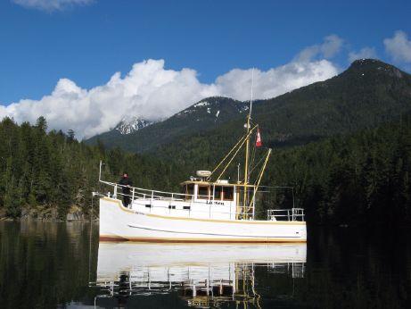 1995 Custom Weld trawler/tug