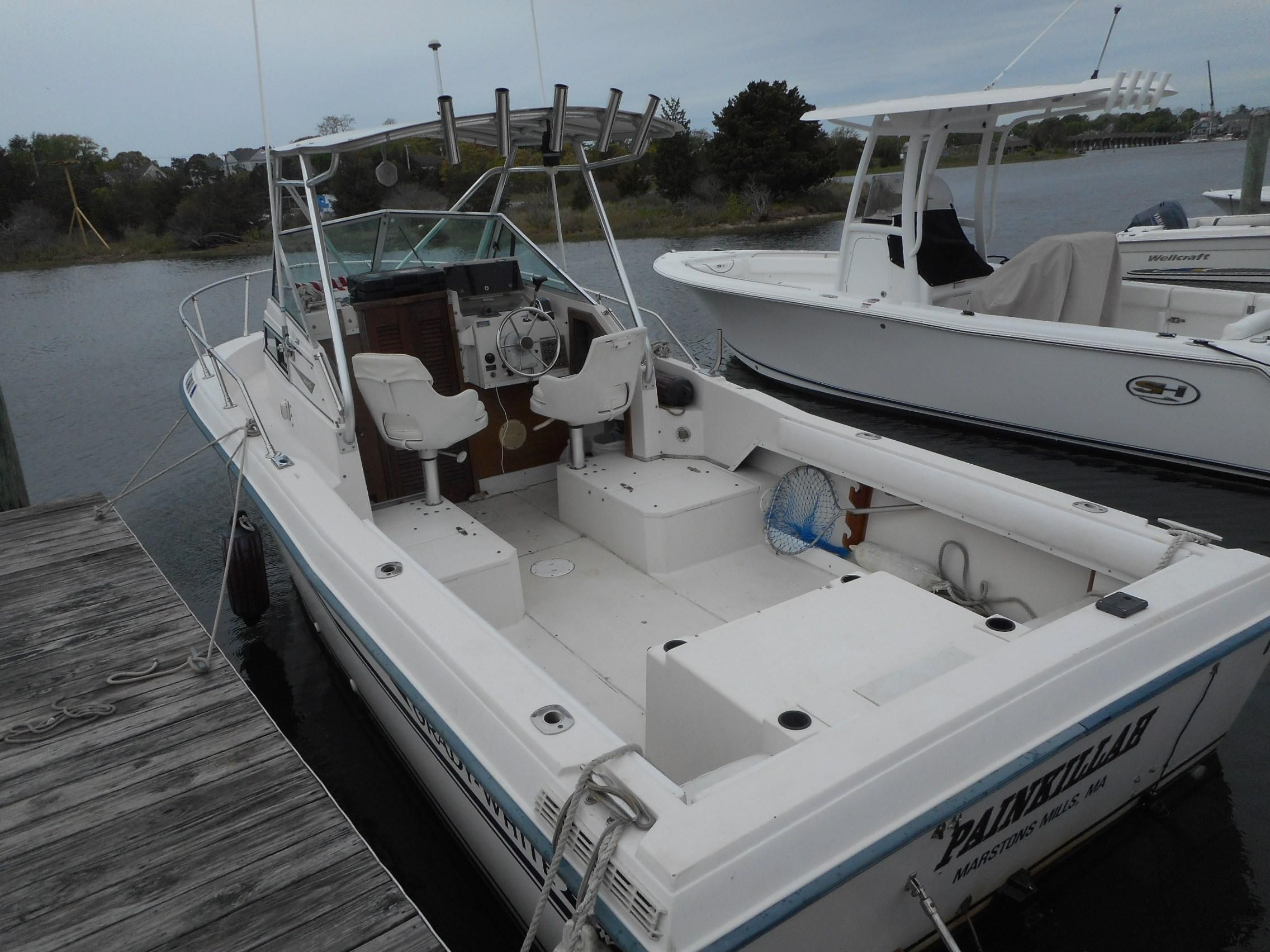 1987 Grady-White 22 Seafarer Power Boat For Sale - www ...